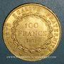 Monnaies 3e république (1870-1940). 100 francs Génie 1879A. Ancre simple. (PTL 900 /1000. 32,25 g)