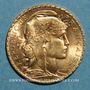 Monnaies 3e république (1870-1940). 20 francs Marianne 1910. (PTL 900 /1000. 6,45 g)