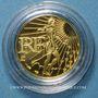 Monnaies 5e république (1959- ). 100 euro 2010. La Semeuse