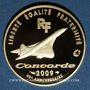 Monnaies 5e république (1959 -). 50 euro 2009 40e anniversaire du 1er vol du Concorde. 920 /1000. 8,45 g