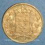 Monnaies Charles X (1824-1830). 20 francs 1825 A. (PTL 900‰. 6,45 g)