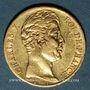 Monnaies Charles X (1824-1830). 20 francs 1825A. (PTL 900‰. 6,45 g)