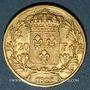 Monnaies Charles X (1824-1830). 20 francs 1825A. (PTL 900/1000. 6,45 g)