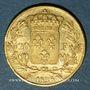 Monnaies Charles X (1824-1830). 20 francs 1826W. Lille. 900 /1000. 6,45 gr