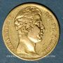 Monnaies Charles X (1824-1830). 20 francs 1827A. 900 /1000. 6,45 gr