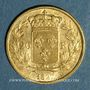 Monnaies Charles X (1824-1830). 20 francs 1827A. (PTL 900‰. 6,45 g)