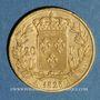 Monnaies Charles X (1824-1830). 20 francs 1828A. 900 /1000. 6,45 g