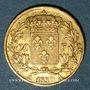 Monnaies Charles X (1824-1830). 20 francs 1830A. 900 /1000. 6,45 g