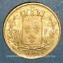 Monnaies Charles X (1824-1830). 20 francs 1830A. (PTL 900‰. 6,45 g)