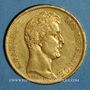 Monnaies Charles X (1824-1830). 40 francs 1828 A. (PTL 900‰. 12,90 g)