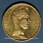 Monnaies Charles X (1824-1830). 40 francs 1828A. 900 /1000. 12,90 gr