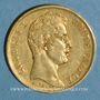 Monnaies Charles X (1824-1830). 40 francs 1829A. (PTL 900‰. 12,90 g)