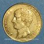 Monnaies Consulat (1799-1804). 20 francs an 12 A. (PTL 900‰. 6,45 g)