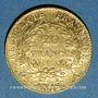 Monnaies Consulat (1799-1804). 20 francs an 12A. 900 /1000. 6,45 g