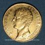 Monnaies Consulat (1799-1804). 20 francs an 12A. (PTL 900‰. 6,45 g)