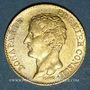 Monnaies Consulat (1799-1804). 20 francs an 12A.. (PTL 900‰. 6,45 g)