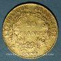 Monnaies Consulat (1799-1804). 20 francs an XIA. (PTL 900‰. 6,45 g)
