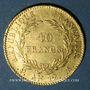 Monnaies Consulat (1799-1804). 40 francs an 12A. 900 /1000. 12,90 g