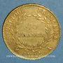 Monnaies Consulat (1799-1804). 40 francs an 12A. (PTL 900 /1000. 12,90 g)