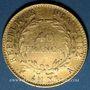 Monnaies Consulat (1799-1804). 40 francs an XIA. (PTL 900‰. 12,90 g)