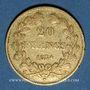 Monnaies Louis Philippe (1830-1848). 20 francs tête laurée 1834A. 900 /1000. 6,45 gr