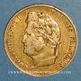 Monnaies Louis Philippe (1830-1848). 20 francs tête laurée 1834A. (PTL 900 /1000. 6,45 g)