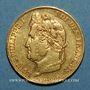 Monnaies Louis Philippe (1830-1848). 20 francs tête laurée 1840A. (PTL 6,45g 900/1000)