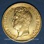 Monnaies Louis Philippe (1830-1848). 20 francs tête nue, tranche en relief, 1831A. 900 /1000. 6,45 gr