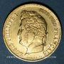 Monnaies Louis Philippe (1830-1848). 40 francs tête laurée 1834A. 900 /1000. 12,90 gr