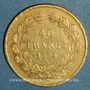 Monnaies Louis Philippe (1830-1848). 40 francs tête laurée 1834A. ( PTL 900 /1000. 12,90 g)