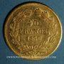 Monnaies Louis Philippe (1830-1848). 40 francs tête laurée 1837 A. (PTL 900‰. 12,90 g)