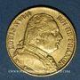Monnaies Louis XVIII (1815-1824). 20 francs buste habillé 1815 A. (PTL 900‰. 6,45 g)