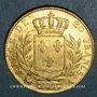 Monnaies Louis XVIII (1815-1824). 20 francs buste habillé 1815A. (PTL 900‰. 6,45 g). Type avec 5 court