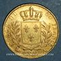Monnaies Louis XVIII (1815-1824). 20 francs buste habillé 1815A. (PTL 900/1000. 6,45 g). Type avec 5 long