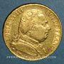 Monnaies Louis XVIII (1815-1824). 20 francs buste habillé 1815A. (PTL 900/1000. 6,45 g). Type avec 5 moyen