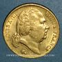 Monnaies Louis XVIII (1815-1824). 20 francs buste habillé 1819A. (PTL 900/1000. 6,45 g)