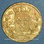 Monnaies Louis XVIII (1815-1824). 20 francs buste habillé 1820A. (PTL 900/1000. 6,45 g)