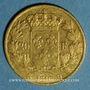Monnaies Louis XVIII (1815-1824). 20 francs buste nu 1816 Q. Perpignan. (PTL 900‰. 6,45 g)