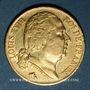 Monnaies Louis XVIII (1815-1824). 20 francs buste nu 1816A. (PTL 900‰. 6,45 g)