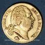 Monnaies Louis XVIII (1815-1824). 20 francs buste nu 1818A. (PTL 900‰. 6,45 g)