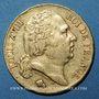 Monnaies Louis XVIII (1815-1824). 20 francs buste nu 1818L. Bayonne. (PTL 900‰. 6,45 g)