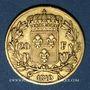 Monnaies Louis XVIII (1815-1824). 20 francs buste nu 1819A. (PTL 900‰. 6,45 g)