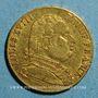 Monnaies Louis XVIII, en exil (1815). 20 francs 1815R. Londres. (PTL 900‰. 6,45 g)
