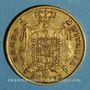 Monnaies Royaume d'Italie. Napoléon I (1805-1814). 40 lires 1812 M. Milan. (PTL 900‰. 12,90 g)