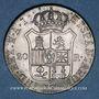 Monnaies Espagne. Royaume. Joseph Napoléon (1808-1813). 20 reales 1811 M-A.I. Madrid