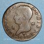 Monnaies Espagne. Royaume. Joseph Napoléon (1808-1813). 8 maravedis 1812. Madrid