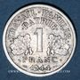 Monnaies Etat Français (1940-1944). 1 franc 1944C, petit C