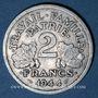 Monnaies Etat Français (1940-1944). 2 francs francisque 1944C