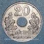 Monnaies Etat Français (1940-1944). 20 centimes 1944, Fer