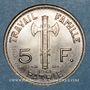 Monnaies Etat Français (1940-1944). 5 francs Pétain 1941